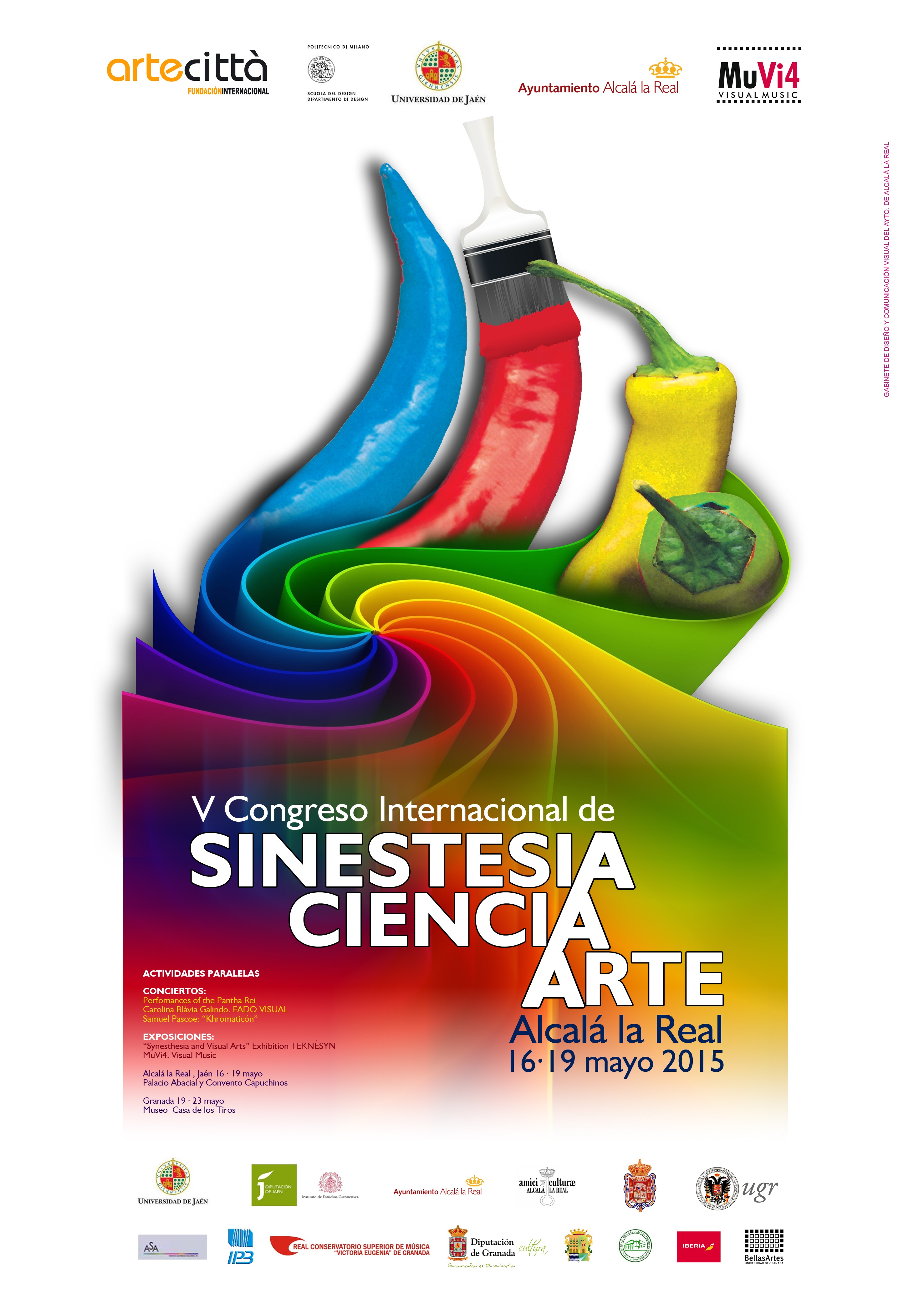 synesthesia, sceince and art International congress2015